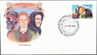 Australia - 1982 - 24 Cents Australia Day Immigrants / Immigration #820 FDC Nice