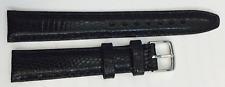 Real Reptile Lizard Leather Watchband 0 19/32in, Steel Lock