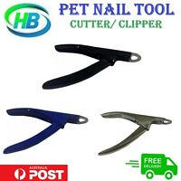 Pet Dog/Cat Nail Clippers Cutter Trimmer Grooming Toe Claw Paw Care Blade,NEW