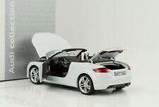 Audi TT Roadster Bianco Ghiacciaio 1 18 Minichamps