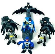 Batman Mixed Lot of 7 Toy Figures DC Comics, McDonalds, Burger King