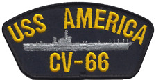 USS America CV-66 (CVA-66) United States Navy USN Embroidered Patch