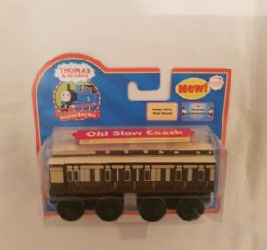 Thomas The Tank Engine & Friends OLD SLOW COACH WOODEN WOOD NEW IN BOX