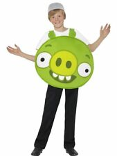 ANGRY BIRDS GREEN HELMET PIG Fancy Dress Costume