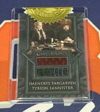 2020 The Complete Game of Thrones SD1 Daenerys Tyrion Dual Costume Card 9 Case