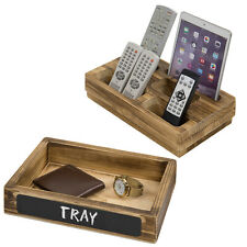 MyGift Desktop Remote Control Holder Caddy with Chalkboard and Removable Tray