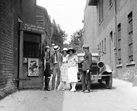 "1921 Entrance to the Krazy Kat Speakeasy Vintage/ Old Photo 8.5"" x 11"" Reprint"
