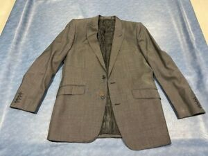 CUSTOM GREY MENS SUIT JACKET AND TROUSERS