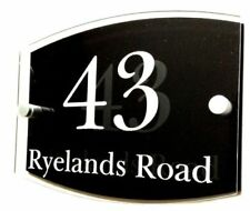 Acrylic Patternless House Name Decorative Plaques & Signs