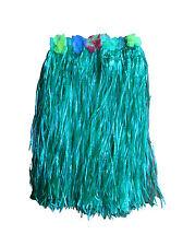 Adult Hawaiian Skirt Costume Tropical Dress Hula Luau Leis  Grass Party Dress Up