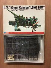 1/48 BANDAI 8293: CANON LOURD AMERICAIN DE 155mm LONG TOM US ARMY RARE COLLECTOR