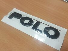 VOLKSWAGEN VW POLO CUSTOM NERO LUCIDO REAR BADGE SCRITTA GTI R TDI BlueMotion