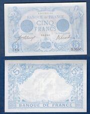 5 Francs BLEU Type 1905 - 22/12/1915 SPL++/ NEUF H.9460 188 Capricorne