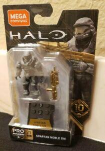 Brand New Mega Construx Halo Heroes 10th Anniversary Reach NOBLE SIX figure!