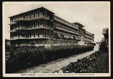 cartolina BUSTO ARSIZIO sanatorio dell'istituto nazionale fascista PREV.SOCIALE