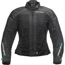SPADA Motorcycle Textile Ladies Jacket Air Pro Black 465800 UK 10