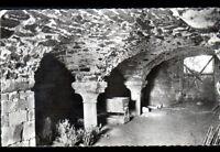 AVRANCHES / GRANVILLE (50) SALLE voutée de l'ABBAYE de LUCERNE en 1950