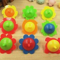 5x Sunflower  Pegasus Mini Top Spinning Kindergarten Gyro Toys JR