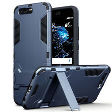 Huawei P10 PLUS  Rugged High Impact Resistant CaseTough Balistic Shell Blue