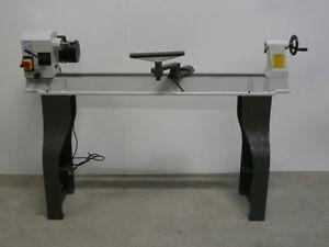 Drechselbank Drehbank Holzdrehmaschine 1100x350 M33 Gussbett stufenlose Drehzahl