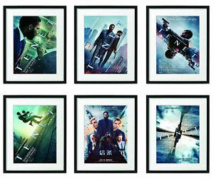 Tenet (2020) Christopher Nolan Movie Poster FRAMED Film Art Print Home Decor