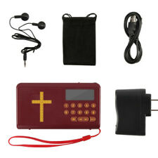 Audio Bible Player Rechargeable Electronic With Headset King James Version
