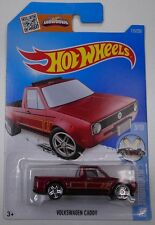 HOT WHEELS 1:64 scale VOLKSWAGEN CADDY RED 3/10 HW SHOWROOM 113/250
