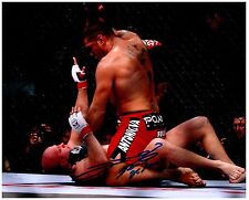 ANTONIO SILVA Signed Autographed UFC MMA 8X10 PIC. F