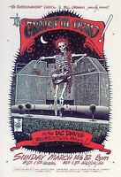 GRATEFUL DEAD (1) POSTAL NUEVA SIN SELLAR. POSTCARD. NEW. UNPOSTED