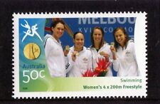 2006 Commonwealth Games 50c Swimming 4x 200mt Women's Stamp Mint Never Hinged