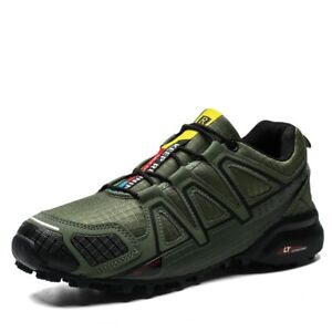 Mens Cycling Shoes Non-slip MTB Shoes Breathable Mountain Bike Sneakers 39-47
