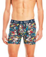 Original Penguin Men's Abstract Paint Boxer Brief