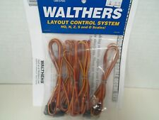walthers extension cables 5pack 4ft each