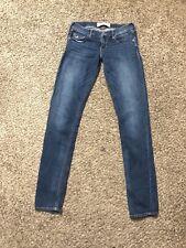 Hollister Socal Stretch Oceanside Super Skinny Jeans Size 3L W26/L33