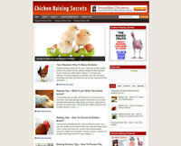 CHICKEN KEEPING WEBSITE WITH UK AFFILIATE STORE FULLY STOCKED & FREE DOMAIN
