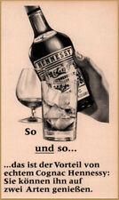1966  Hennessy Cognac Casks Print Ad