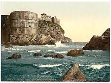 Ragusa The Fortification Dalmatia A4 Photo Print