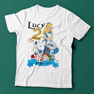 Alice in Wonderland Birthday Shirt / Alice in wonderland Party Supplies