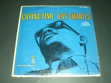 Ray Charles Crying Time LP Vinyl Album Record in EX/NM COND from 1966 004