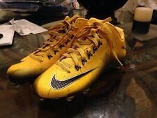 Nike Alpha Pro 2 3/4 D Men's Football Shoes Deep Yellow/Black Free Shipping