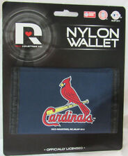 Mlb Nwt Printed Tri-Fold Nylon Wallet - St. Louis Cardinals