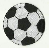écusson ECUSSON PATCHE THERMOCOLLANT BALLON FOOT FOOTBALL DIAMETRE 6,5 CM