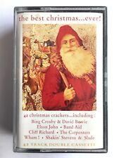 THE BEST CHRISTMAS EVER - Double Cassette VTDMC23 - CHRISTMAS SONGS / HITS