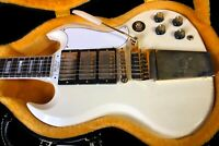 2020 Gibson 1963 SG Les Paul Custom 100% unplayed! Classic White RARE! SAVE!