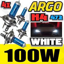 H4 XENON Blanc 100W Faisceau Ampoules Phare 12V HONDA CA 125 (JC26)