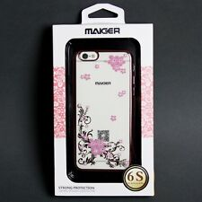 "Maiger Limited Edition iPhone 6/6S 4.7"" Full Bloom Hard Phone Case - Rose Gold"