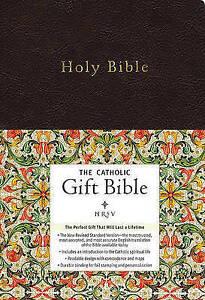 NRSV - the Catholic Gift Bible by Zondervan Publishing (Hardback, 2011) FREEPOST