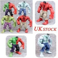 "4Pcs 3"" Avengers Hulk Green Red Hulk Action Figure The Incredible Toys  Gift UK"