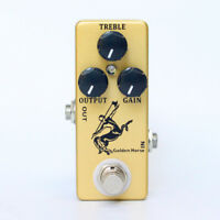 Mosky Golden Horse Guitar Effect Pedal Overdrive Boost For Mini Centaur Pedal