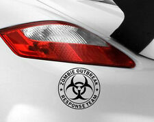 Zombie Outbreak Sticker Decal Car Vinyl Response Team Funny Window Jdm Bumper